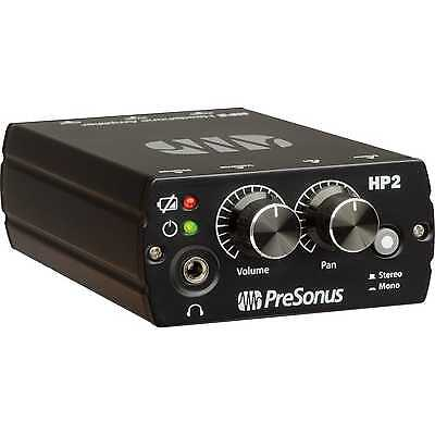 NEW Presonus HP2 Battery Powered Headphone Amp In Ear Monitoring • 88.32£
