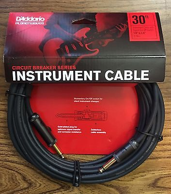 Planet Waves Daddario PW-AG-30 Circuit Breaker Cables 30 Foot • 30.39£