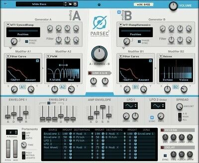 New Reason Studios Parsec 2 Spectral Synthesizer MAC PC eDelivery