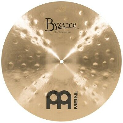 Meinl Byzance Traditional Extra Thin Hammered Crash Cymbal 18 - Video Demo • 227.82£