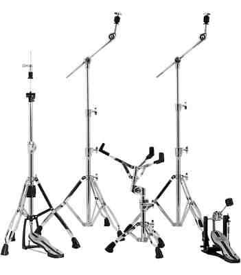 Mapex Mars Hardware Pack Chrome W/ P600 Single Pedal - HP6005 • 245.29£