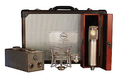 New Peluso 22 251 Vacuum Tube Microphone System Mic W/PSU, Case, Shockmount • 1,072.17£