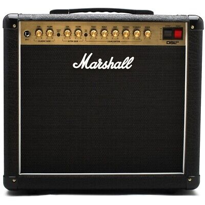 Marshall DSL20CR Tube Guitar Combo Amplifier 20W 2-Ch 1x12  Amp W/ Footswitch • 434.37£