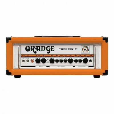 Orange Amps Crush Pro CR120H Guitar Amplifier Head 120W Solid State FX Loop • 366.37£