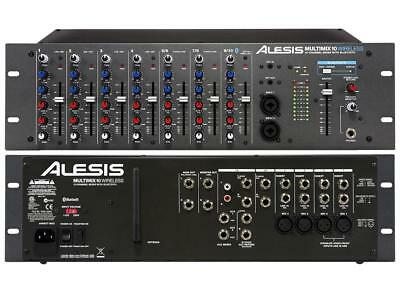 Alesis - Multimix-10 - 10-Channel Rackmount Mixer with Bluetooth Wireless