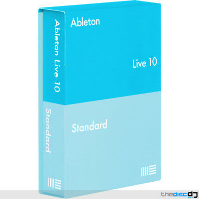 Ableton Live 10 Standard DAW Software Boxed • 359£