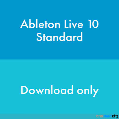 Ableton Live 10 Standard DAW Software Download • 173£
