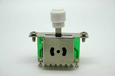 White 3 Way Switch Pickup Selector For FENDER TELECASTER Telecaster • 4.74£