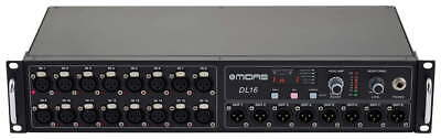 Midas DL16 Digital Stage Box 16 Inputs 8 Outputs For M32 M32R Special Offer NEW • 749£