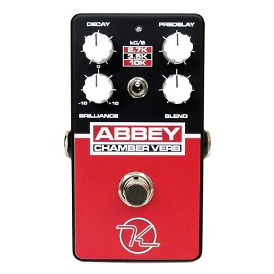Keeley Abbey Chamber Verb Vintage Reverb Echo Guitar Effects Pedal Stompbox • 122.17£