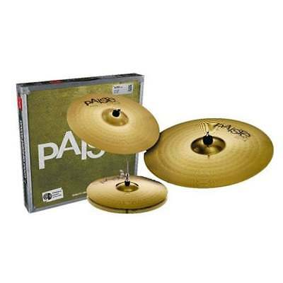 Paiste 101 Cymbal Set 14 Hi Hats - 16 Crash - 20 Ride • 165£