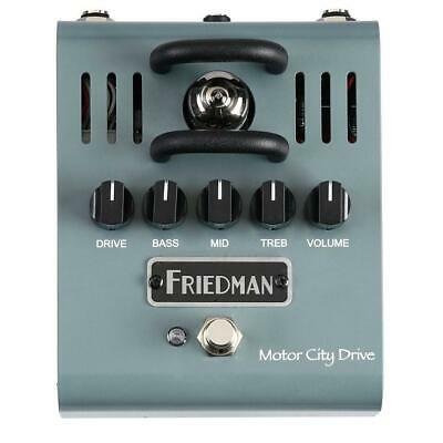 Friedman Motor City Drive 12AX7 Tube Powered Overdrive Pedal • 182.85£