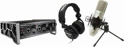 Tascam - US-2x2TP - Trackpack Complete Recording Package USB 2 With Software • 250.37£