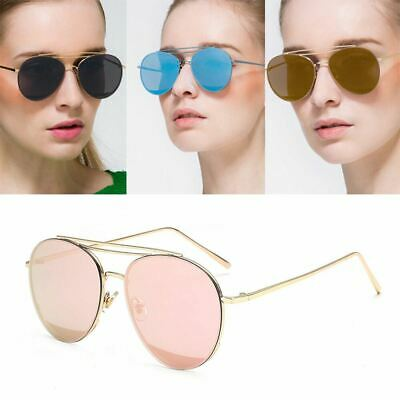 Womens Round Lens Fashion Sunglasses Colour Vintage Circle Frame Ladies • 4.99£