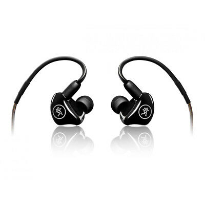 Mackie MP-240 Dual Hybrid Driver Professional In-Ear Monitors, New! • 141.51£