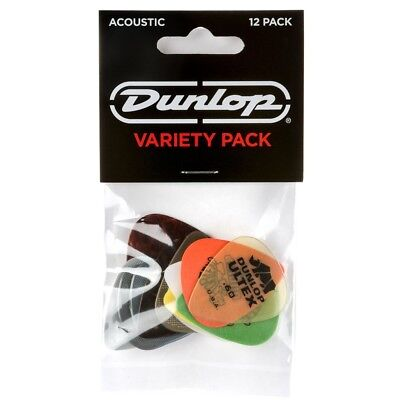 Dunlop PVP112 Acoustic Guitar Pick Variety Pack - 12 Pack • 6.13£