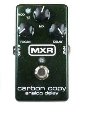 Jim Dunlop MXR Carbon Copy Analog Delay Guitar Effects Pedal - M169 • 154.99£
