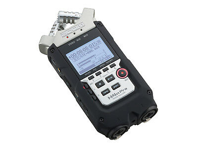 Zoom H4n Pro Handy Multi Track Recorder Stereo Microphone 32gb Sd Card H2n H5 H6 • 189.95£