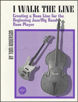 I Walk The Line Creating Jazz Bass Lines Sheet Music Book Double Tom Anderson