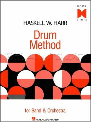 Drum Method For Band & Orchestra Sheet Music Book 2 Snare Drum Learn To Play