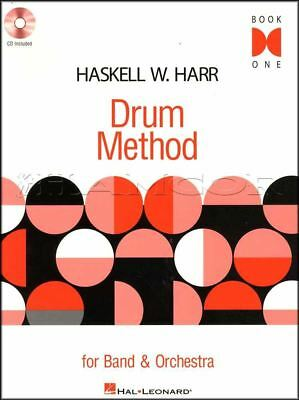 Drum Method For Band & Orchestra 1 Sheet Music Book/CD Snare Drum Learn To Play