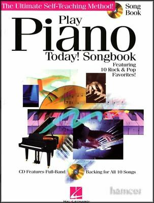 Play Piano Today Songbook Sheet Music Song Book 10 Rock & Pop Favorites