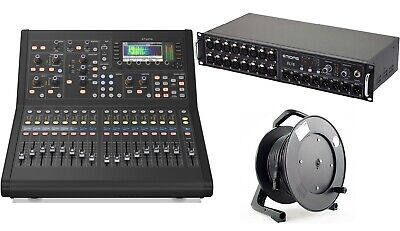 Midas M32R Live Digital Mixer Console Bundle + DL16 & Cat5 Reel 40 Input Mk101 • 2,899£