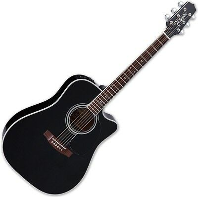 Takamine EF341SC Legacy Series Acoustic Guitar In Gloss Black Finish • 1,229.90£