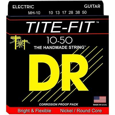 DR Strings Tite-Fit MH10, Nickel Plated, 10-50 Medium-Heavy