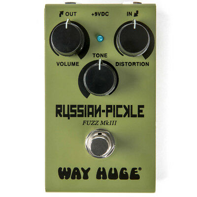 Way Huge Smalls Russian-Pickle Fuzz Pedal, New! • 115£