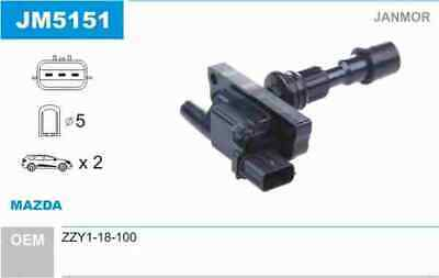 Jm5151 Janmor Oe Quality Ignition Coil • 42£