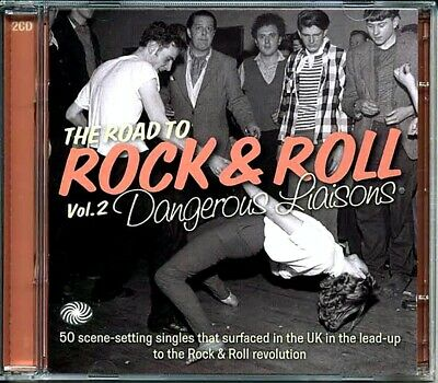 SEALED NEW CD Various - The Road To Rock & Roll Volume 2: Dangerous Liaisons 195 • 20.99£