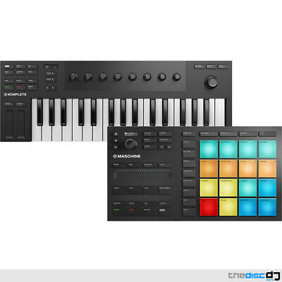 NI Maschine Mikro MK3 And Komplete Kontrol M32 Bundle + Over 1.6GB Of Software • 299£