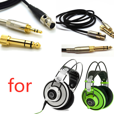 Durable 4mm Headset Cable Replace Kit For AKG Q701 K702 K267 K712 Reloop RHP20 • 13.29£