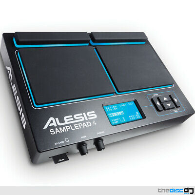 Alesis Sample Pad 4 Percussion & Sample-Triggering Instrument, Electronic Drums • 159£