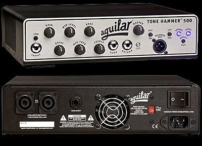 Aguilar Tone Hammer 500 Watt Bass Guitar Amplifier Head NEW With FREE SHIPPING! • 606.28£