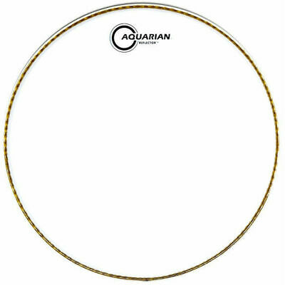 Aquarian Ice White Reflector Bass Drumhead 18In • 33.59£