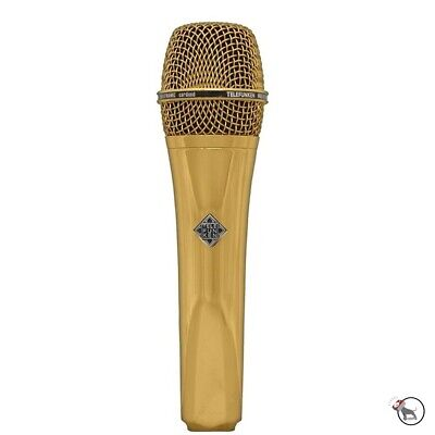 Telefunken M80 Dynamic Live Stage Vocal Performance Recording Microphone Gold • 290.20£
