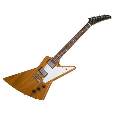 Gibson Explorer 2018 Antique Natural Mahogany Slim Taper Torrefied Granadillo • 1,326.07£