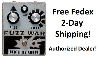 New Death By Audio Fuzz War Guitar Effects Pedal