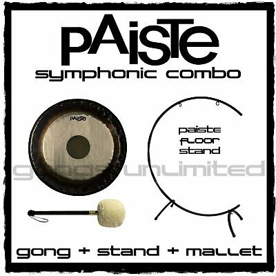 Paiste Symphonic Gong On Floor  C  Stand With Mallet Combos • 623.91£