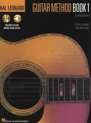 Hal Leonard Guitar Method 1 Music Book with CD and Audio Second Edition