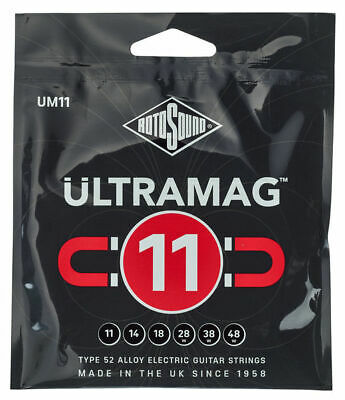 Rotosound Ultramag 11-48 Type 52 Alloy Electric Guitar Strings UM11