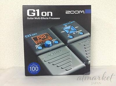 Zoom G1on Multi Effect Processor Stomp Pedal NEW FREE SHIPPING JAPAN NEW • 50.92£