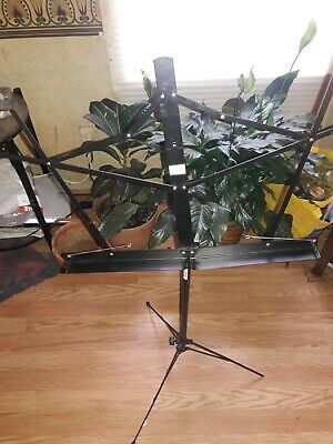 ON STAGE COMPACT SHEET MUSIC STAND SM7122BB BLACK Opens From 40  To 54  • 8.01£
