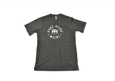 Meinl Pure Alloy T-shirt - Charcoal - Large