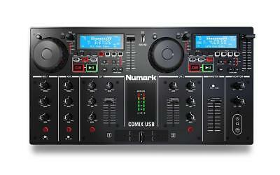 Numark - CDMix USB - Dual CD/usb Media Player With Backlit LCD And Aux Input • 346.60£