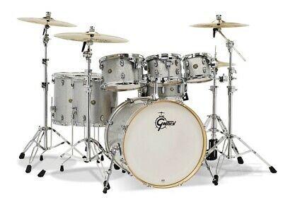 Gretsch Catalina Maple 7-Piece Shell Pack- Silver Sparkle • 809.15£