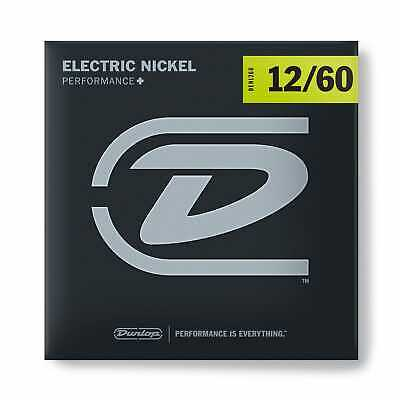 Dunlop Performance+ Nickel Wound 12-60 X Heavy Hybrid Electric Guitar Strings • 7.35£