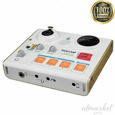TASCAM MiNiSTUDIO PERSONAL US-32 White Omnidirectional Microphone From JAPAN • 117.19£